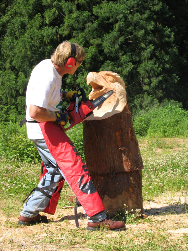 Masters of the chainsaw competitions