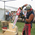 chain saw carving competition