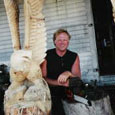 chainsaw art