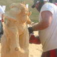 steve backus - chainsaw carving master